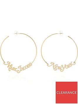 marc-jacobs-the-logo-hoop-earrings-gold