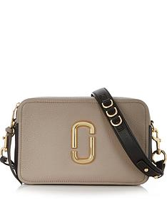 marc-jacobs-the-softshot-27-cross-body-bag--nbsptaupeblack