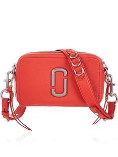 4cae4dfc5 MARC JACOBS The Softshot 21 Cross-Body Bag - Red
