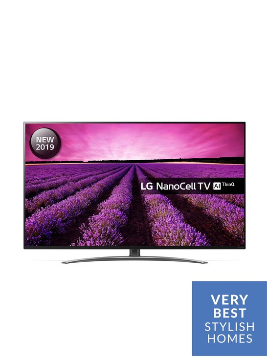 LG 49SM8600PLA 49 inch 4K NanoCell Display Smart TV with Local Dimming