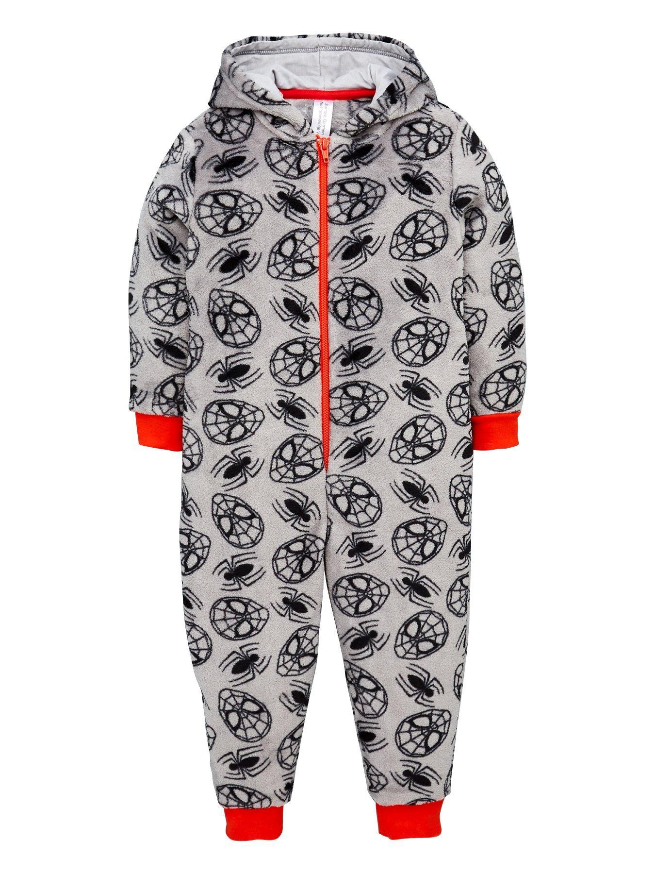 Kids Star Wars Pyjamas All In One Nightwear Fleece Girls Boys