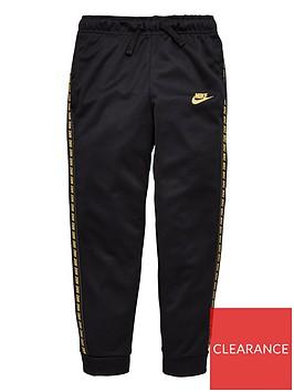 nike-childrens-nsw-taped-jog-pants-blackgold