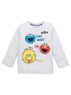 sesame-street-toddler-long-sleeved-top-grey-marl