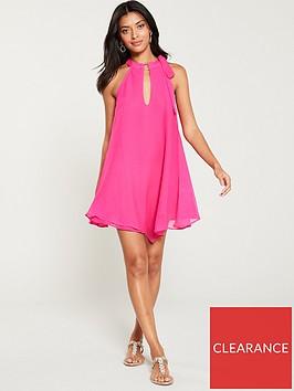 river-island-swing-beach-dress-pink