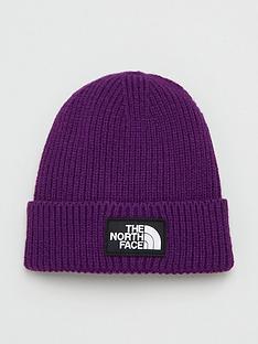 the-north-face-logo-box-cuffed-beanie-hat
