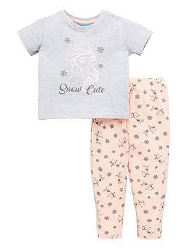 disney-frozen-girls-mini-me-elsa-pyjamas-multi
