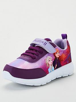 disney-frozen-girls-velcro-strap-trainers-pinkpurple