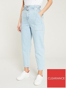 river-island-river-island-paperbag-waist-jeans-light-auth
