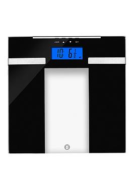 Weight Watchers Ultra Slim Glass Body Analyser Scale Analyser Scale Analyser