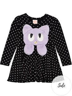 wauw-capow-by-bang-bang-copenhagen-girls-swing-spot-cat-dress-black