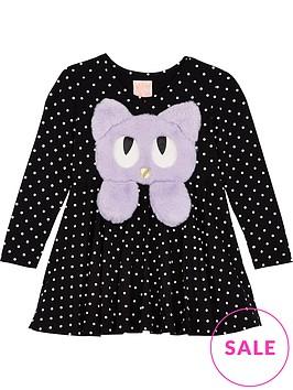 wauw-capow-by-bang-bang-copenhagen-girls-swing-spot-cat-dress-black