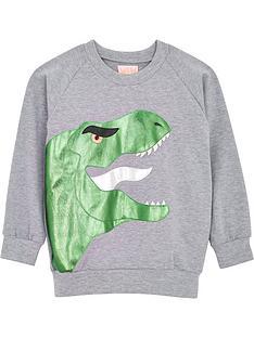 wauw-capow-by-bang-bang-copenhagen-boys-mr-t-t-rex-sweatshirt-grey