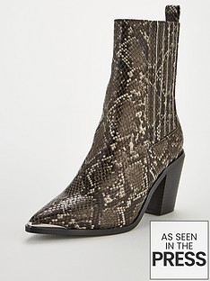 v-by-very-rogue-western-block-heel-point-calf-boots-snake-print