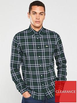 lacoste-sportswear-long-sleeve-check-shirt-green
