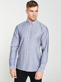 lacoste-sportswear-long-sleeved-oxford-shirt-navy