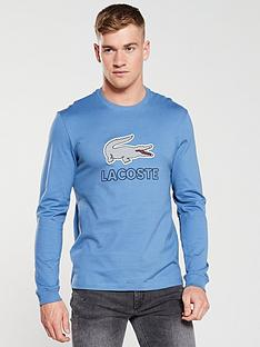 lacoste-sportswear-long-sleeve-t-shirt-airforce-blue