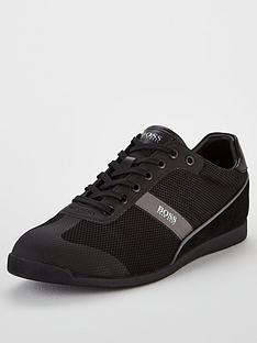 boss-glaze-lownbspprofile-trainers-black