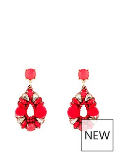 kate-wright-pom-pom-jewelled-earrings-pink