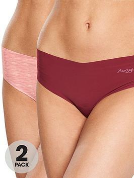 sloggi-2-pack-zero-microfibre-2-pack-hipstring-briefs-red-mix