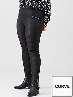 v-by-very-curve-snake-print-biker-jean-black