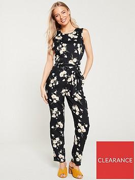 wallis-daisy-tie-waist-jumpsuit-black