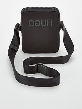 hugo-record-cross-body-bag-black