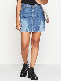 vivienne-westwood-anglomania-laser-denim-skirt-blue
