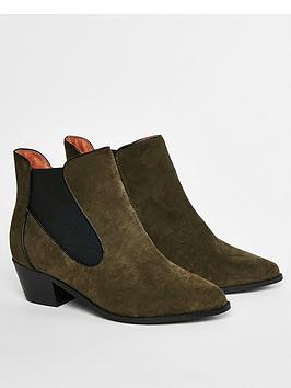 evans-extra-wide-fit-aria-chelsea-boots-khaki