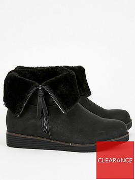 evans-evans-wide-fit-ashley-fur-lined-ankle-boot