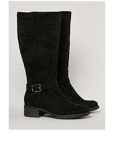 evans-extra-wide-fit-latte-knee-boot-black
