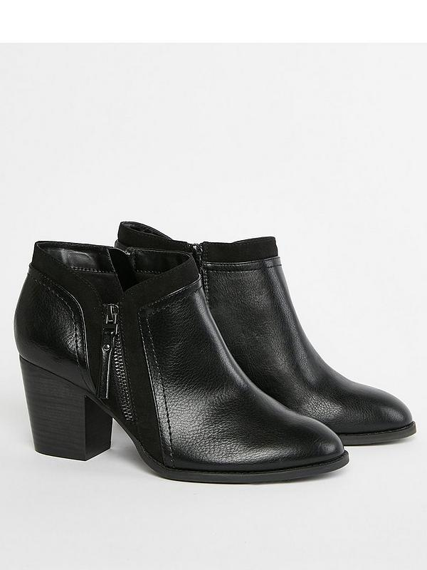 unbeatable price attractive style hot-selling newest Extra Wide Fit Astrid Ankle Boots - Black
