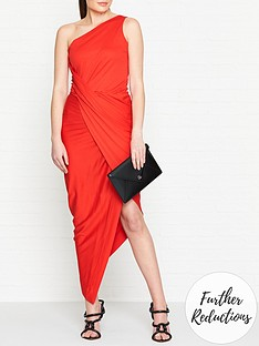 vivienne-westwood-anglomania-vian-one-shoulder-jersey-dress-red