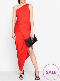 vivienne-westwood-anglomania-vian-one-shoulder-jersey-dress-red