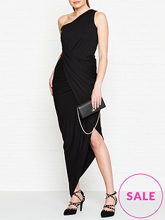 vivienne-westwood-anglomania-vian-one-shoulder-jersey-dress-black