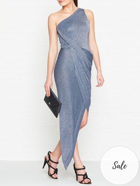 vivienne-westwood-anglomania-vian-one-shoulder-lurex-dress-blue