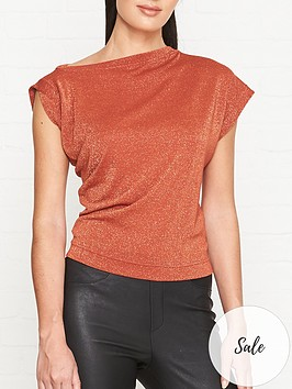 vivienne-westwood-anglomania-hebo-short-sleeve-lurex-t-shirt-rust