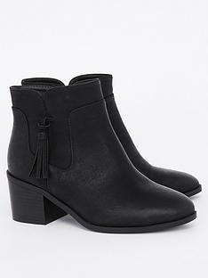 evans-extra-wide-fit-tassel-ankle-boots-black