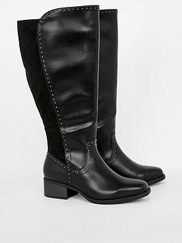 evans-lana-wide-fit-high-boot