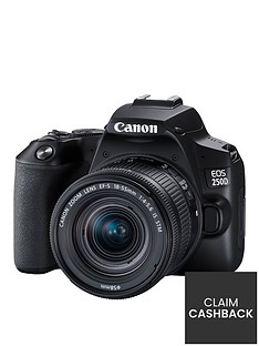 canon-eos-250d-slr-cameranbsp--241mp-3-inch-lcd-display-4k-fhd-wifi-black