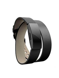 fitbit-inspire-hr-accessory-band-double-leather-wrap-black-one-sizenbsp--fitness-tracker-not-included