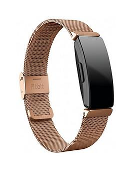 fitbit-inspire-hr-accessory-band-metal-mesh-rose-gold-stainless-steel-one-size-tracker-not-included