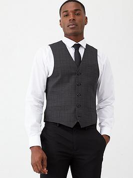 v-by-very-black-check-waistcoat-charcoal