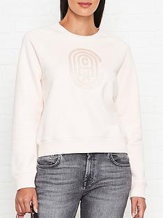 coach-bubble-logo-sweatshirt-pink
