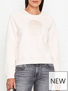 coach-bubble-logo-sweatshirt-pink