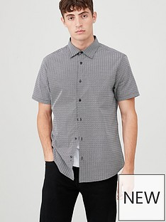 v-by-very-short-sleeved-geo-print-shirt-blackwhite