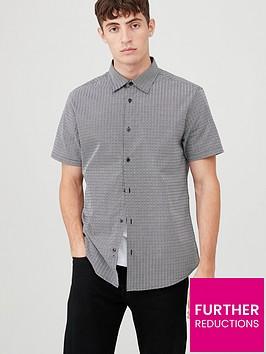 v-by-very-short-sleeved-geo-print-shirt-blackwhite
