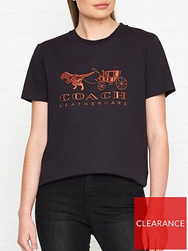 coach-rexy-and-carriage-t-shirt-black
