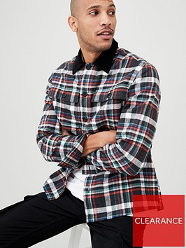 very-man-long-sleeved-checked-overshirt-multiple-colours