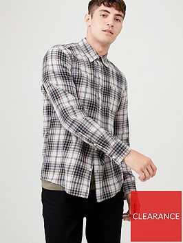 v-by-very-long-sleeved-check-shirt-grey