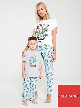 v-by-very-toy-story-mum-and-mini-me-ladies-pyjamas-multi